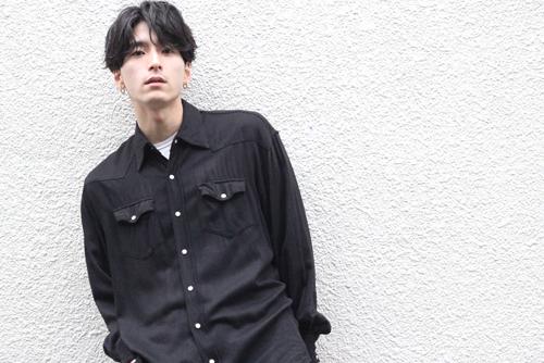 渋谷美容室boucle雅提案するメンズパーマスタイルb