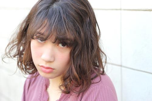 渋谷美容室boucleが提案するレディースパーマスタイル8