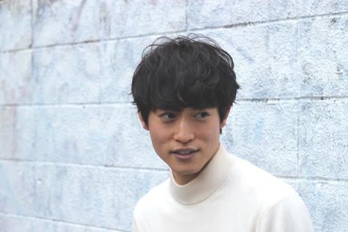 渋谷美容室boucle雅提案するメンズパーマスタイルj