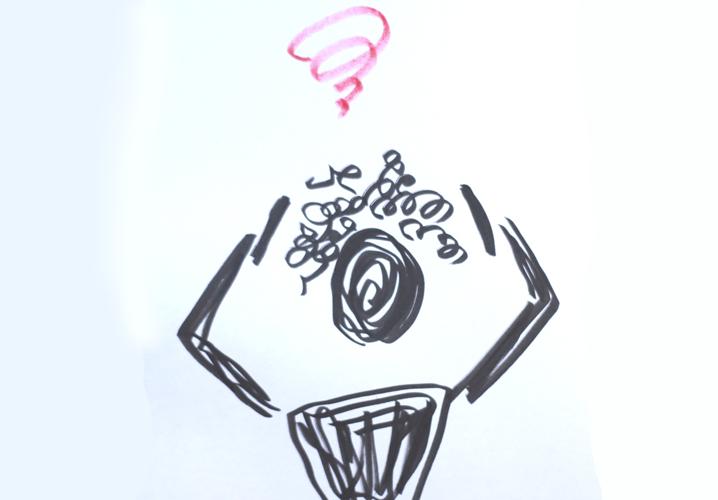 メンズパーマ失敗イメージ